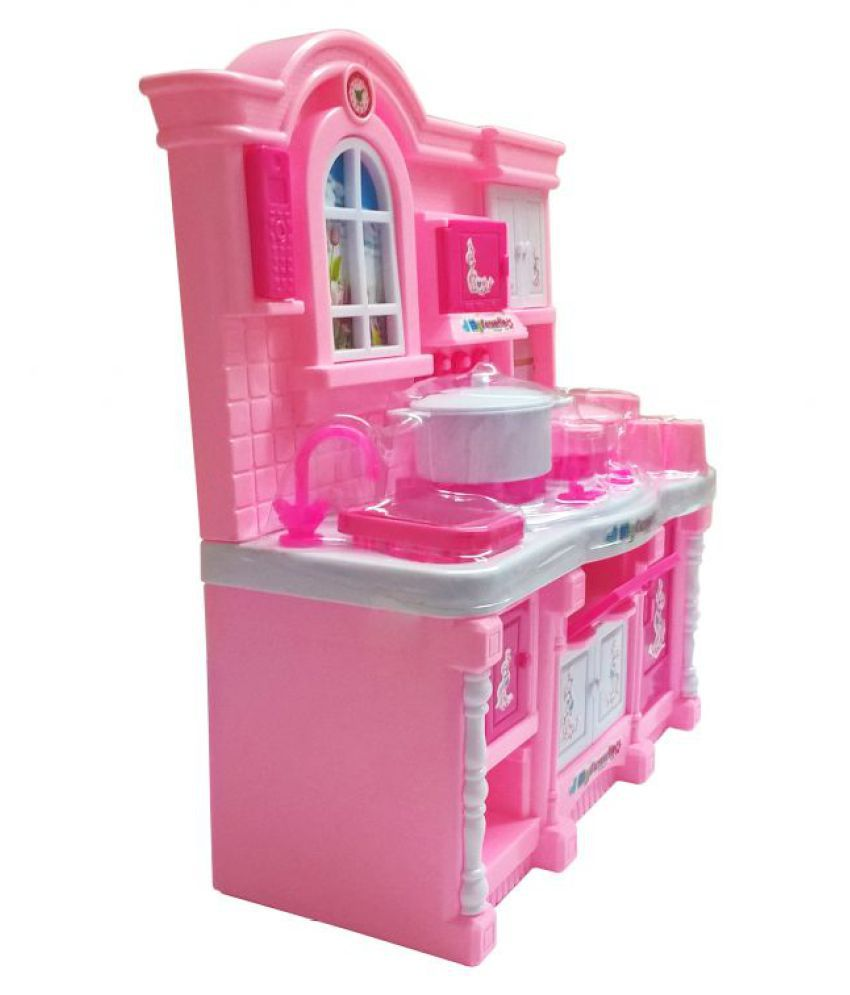 Tickles Pink Baby Kitchen Set