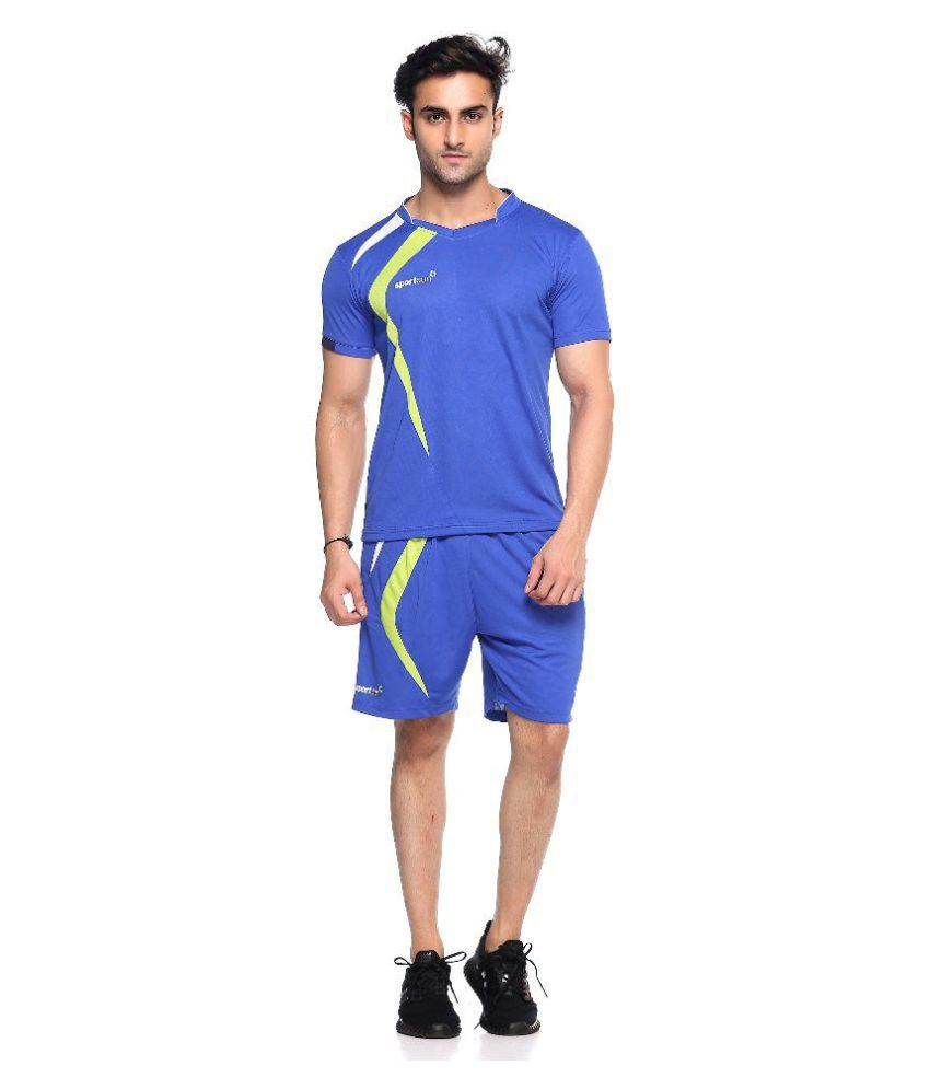 Sport Sun Blue Tshirt with Shorts
