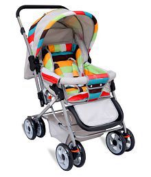 Lollipop- The Colorful Pram - Stroller from R for Rabbit