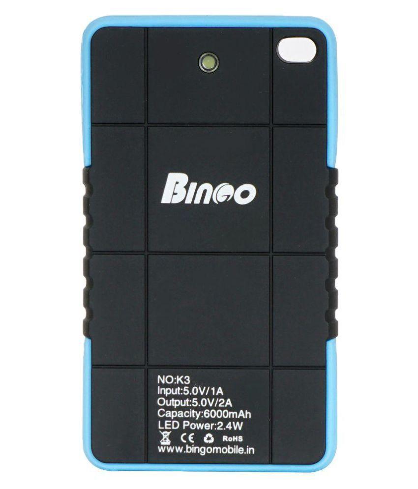 Bingo K3 6000 mAh Li-Ion Power Bank