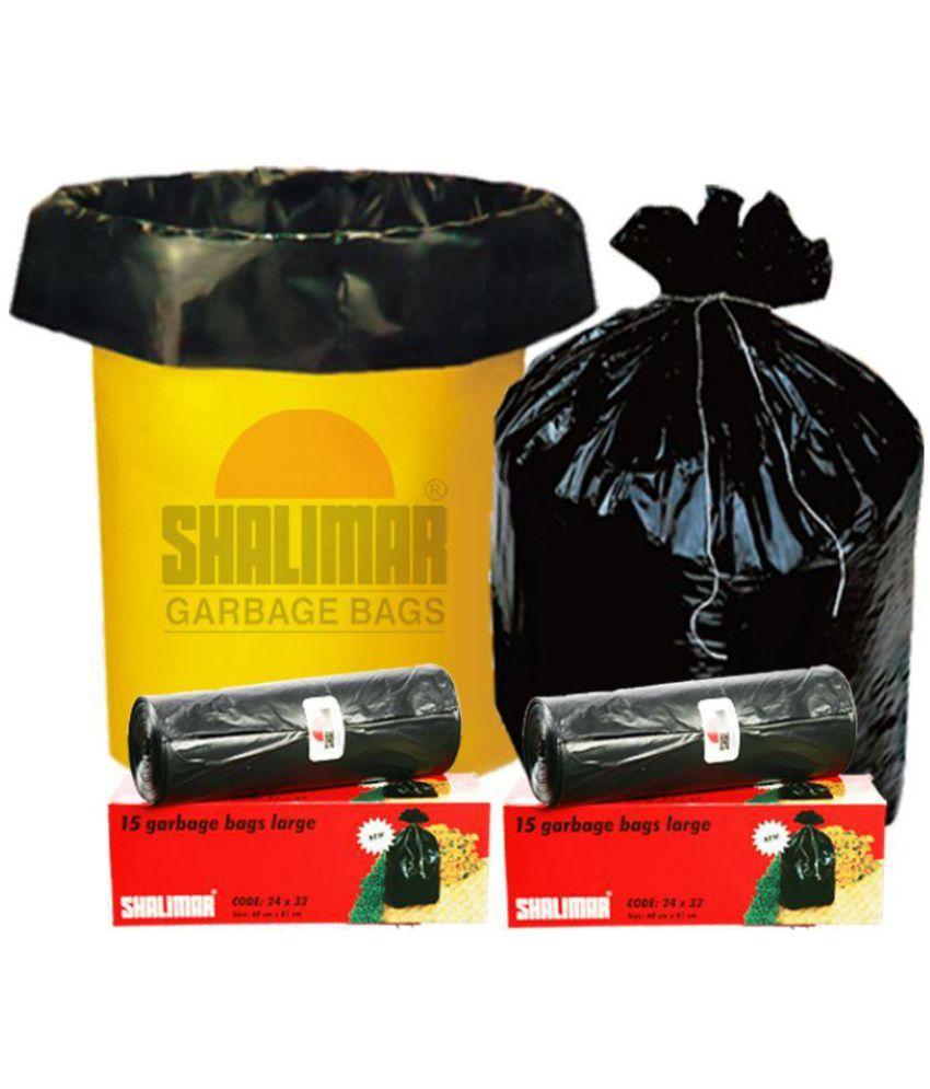 Shalimar Plastic Garbage Bag 90 Bags