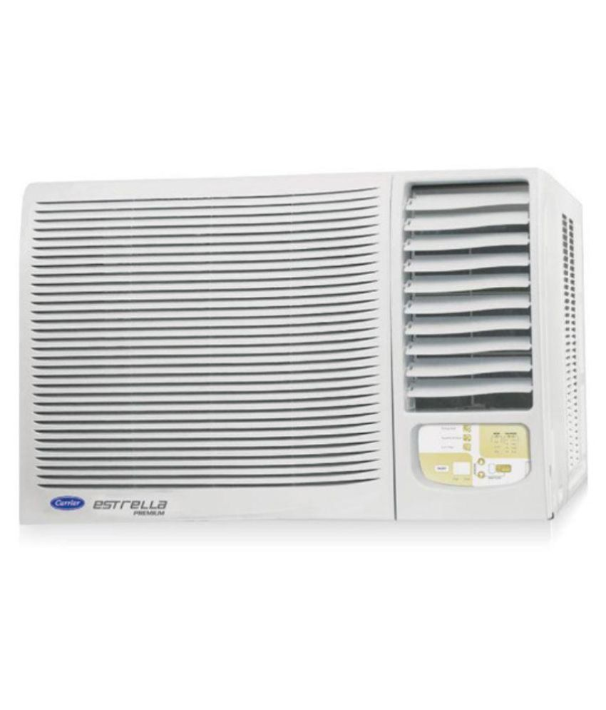 Carrier 1 5 ton 5 star gwrac018ep040 window air for Window 0 5 ton ac