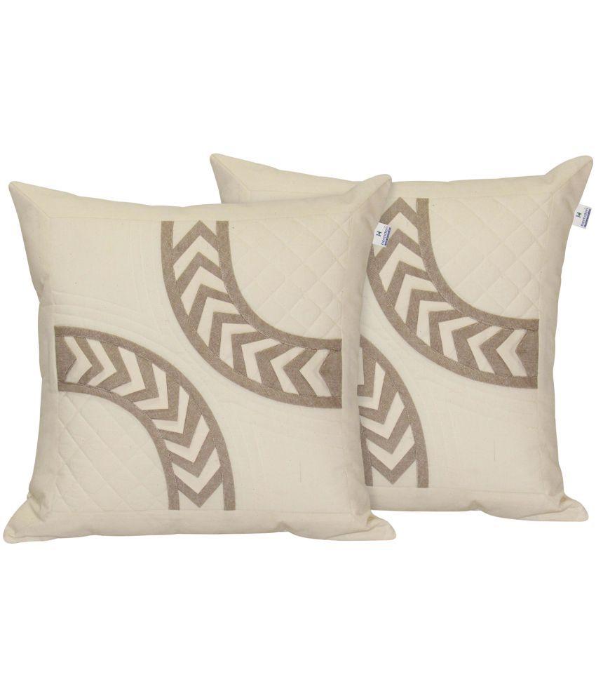 Hemden Set of 2 Cotton Cushion Covers