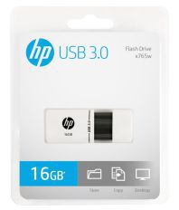 HP X765W 16GB USB 3.0 Pendrive (White)