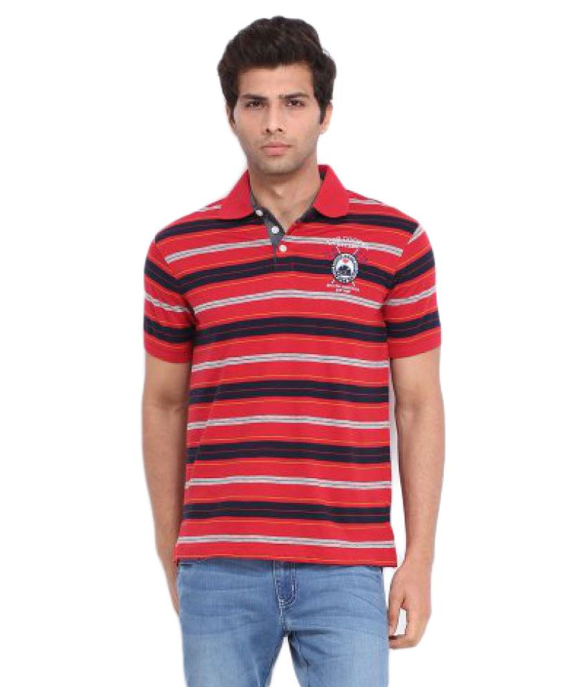 Lee Cooper Multi Cotton Polo T-shirt Single Pack