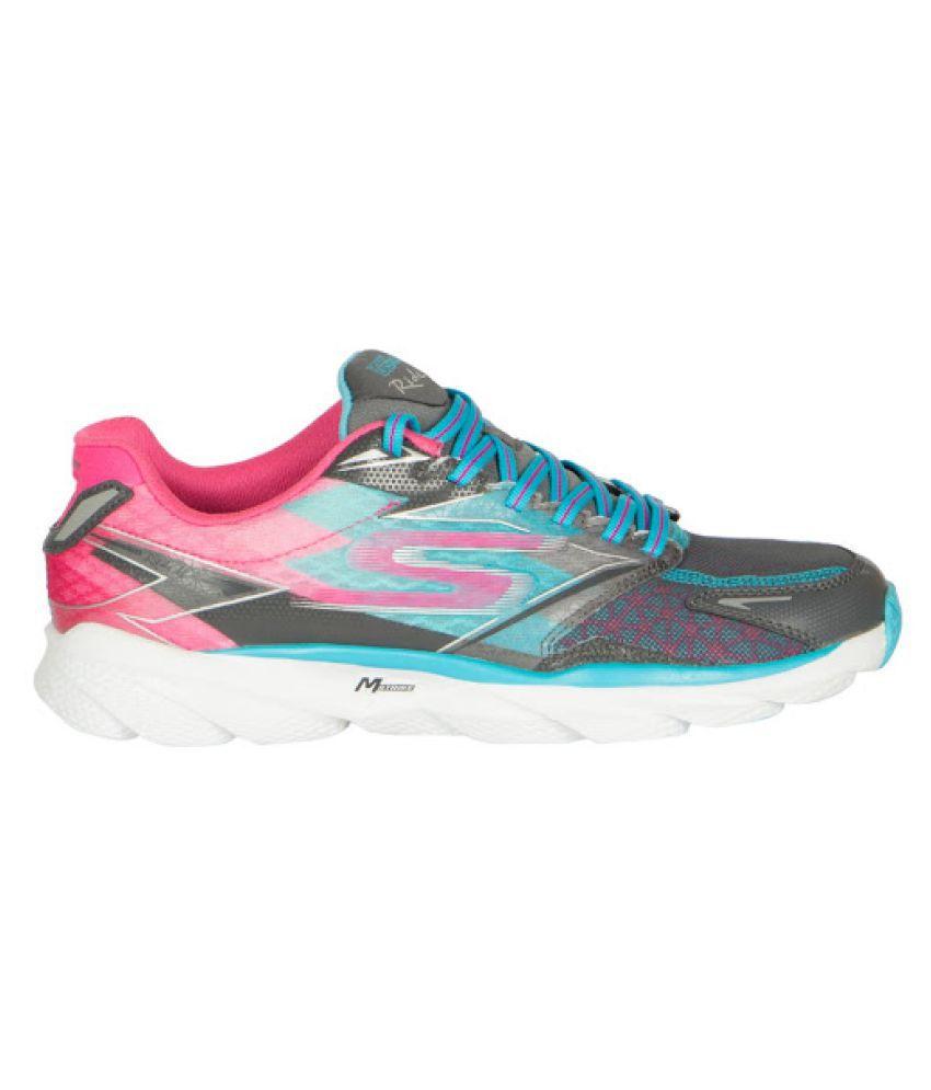 27c7ac88160b3 Skechers Brand Womens Grey Pink Shape Up Running Shoes Price in ... skechers  ladies