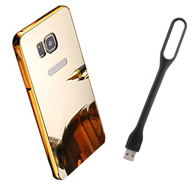 Mirror Back Cover For Samsung Galaxy Note 5 + Usb Light free by Style Crome.