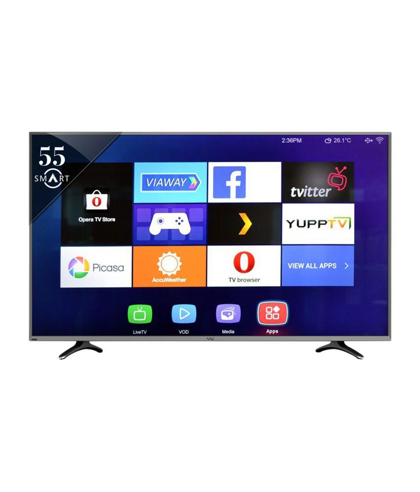 Vu LTDN55XT780XWAU3D 140 cm ( 55 ) Smart Ultra HD (4K) LED Television
