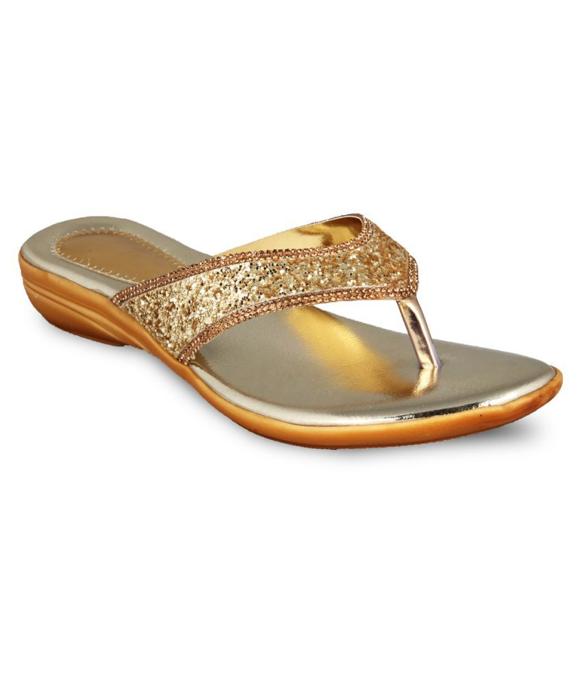 Anand Archies Gold Flats