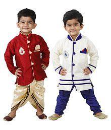 Dixita Multicolor Dhoti and Pajama with Kurta Set
