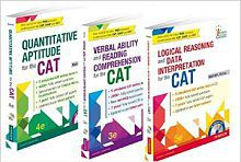 Complete CAT Series Combo of Quantitative Aptitude, Verbal Ability and Reading Comprehension, Logical Reasoning & Data Interpretation by Nishit Sinha