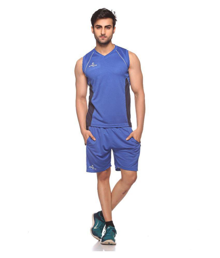 Sport Sun Blue T- Shirt with Shorts