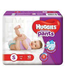 Huggies Wonder Pants Small - 10 Piece (4 To 8 Kg)