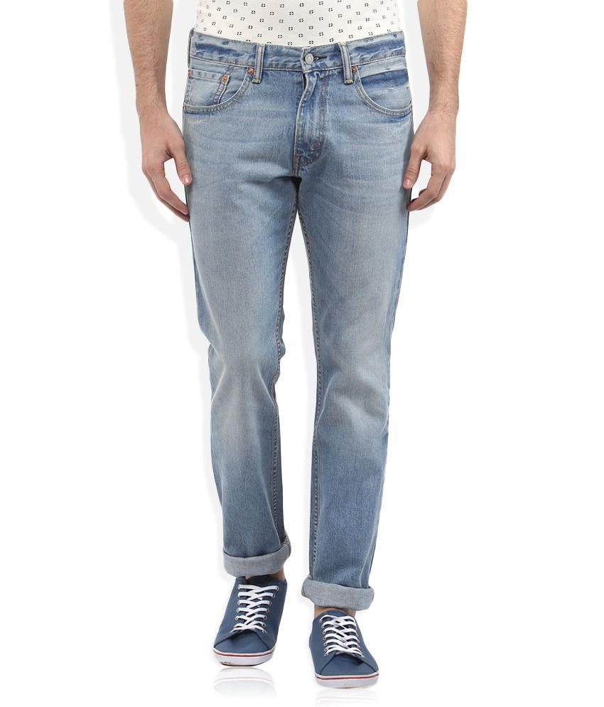 Levis Blue 65504 Skinny Fit Jeans