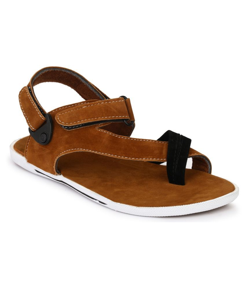 04e4017f8be Afrojack Tan Sandals Price in India- Buy Afrojack Tan Sandals Online ...