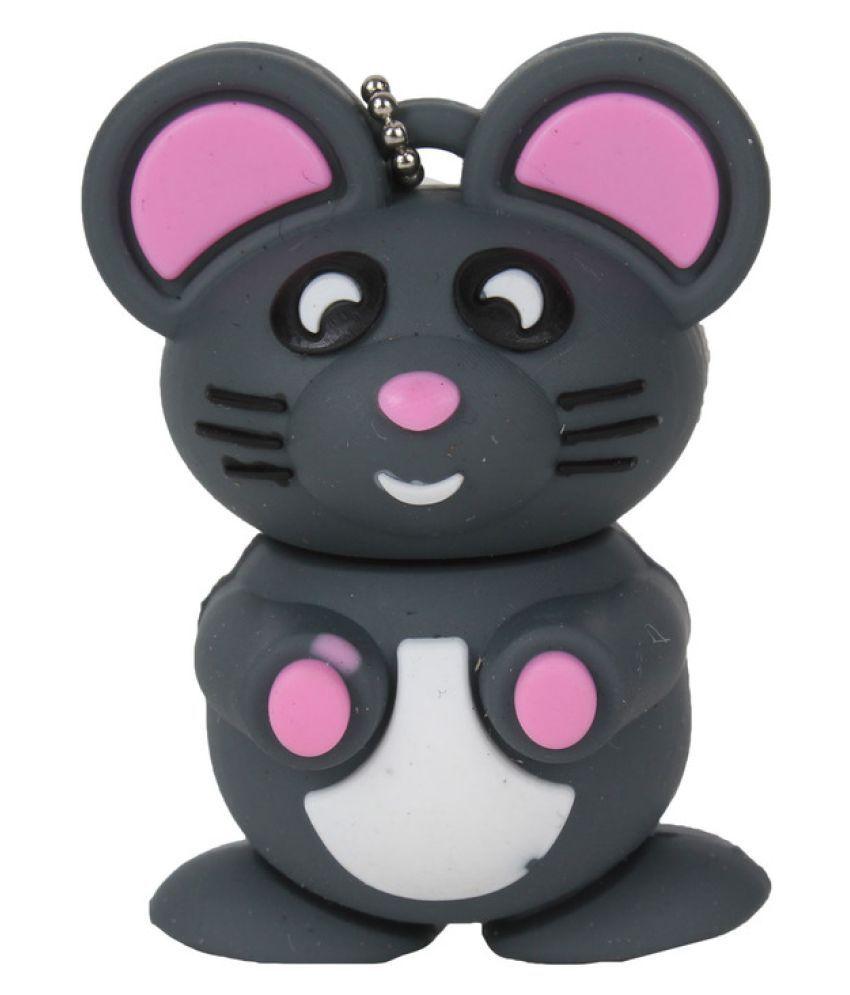 Acid eye Mouse 8GB USB 2.0 Utility Pendrive