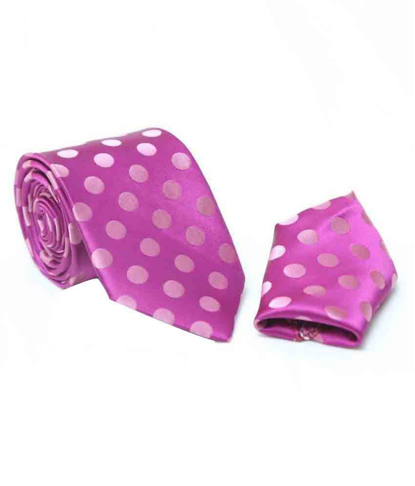 La-Croates Pink Party Necktie