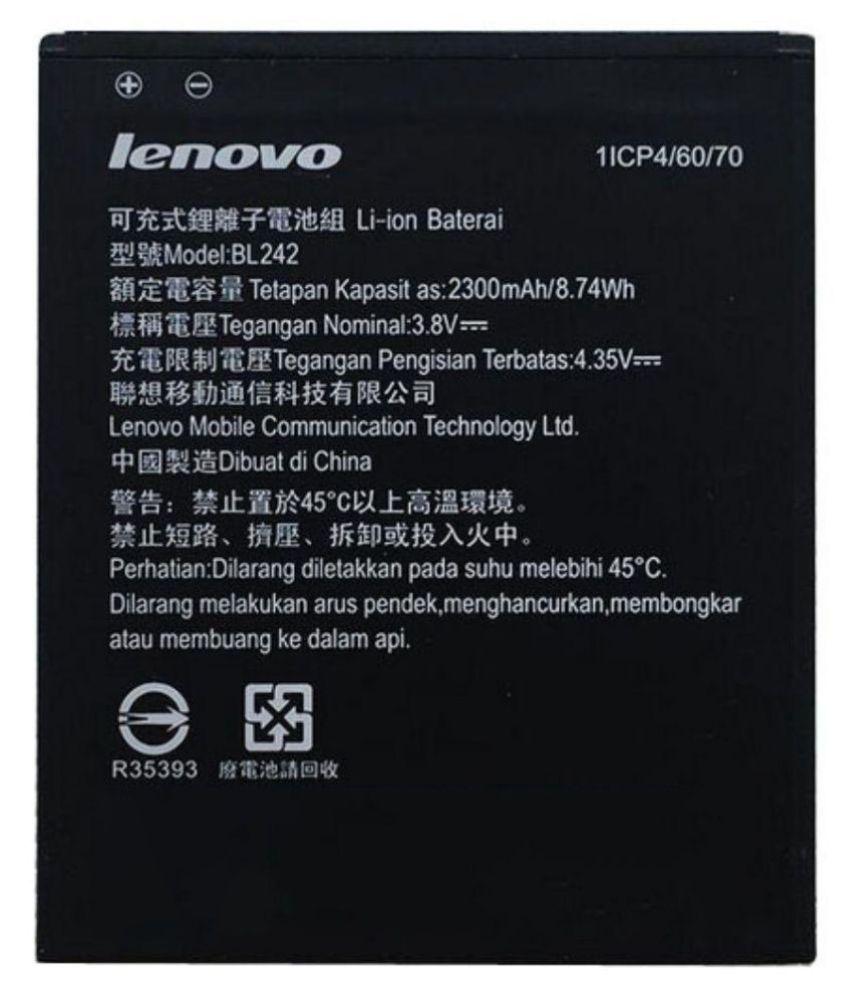 Lenovo A6000 2300 mAh Battery by Elite Genuine