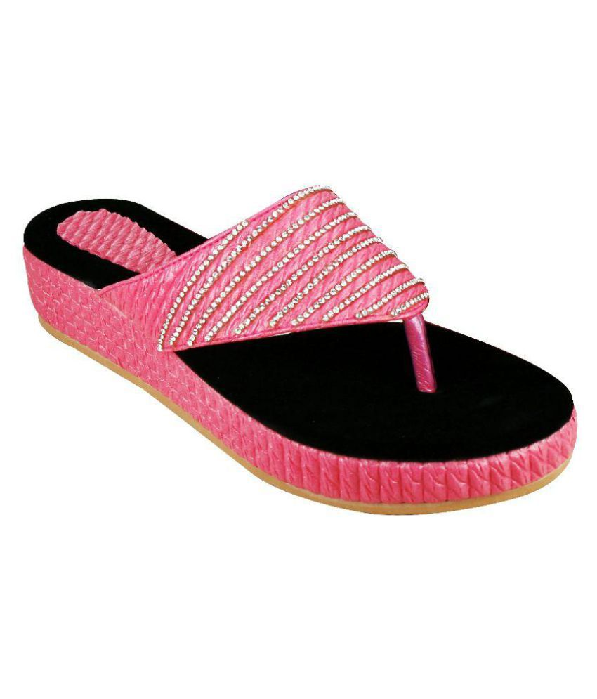 Smart Traders Pink Slippers