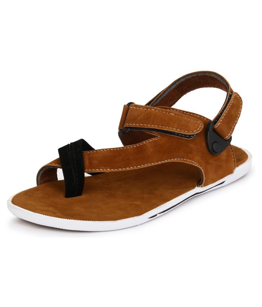 ae98b051b2a Afrojack Tan Sandals Price in India- Buy Afrojack Tan Sandals Online at  Snapdeal