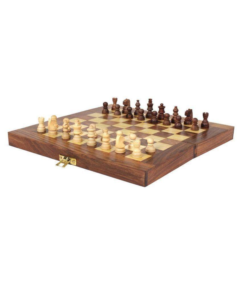 Desi Karigar Wooden Handmade Standard Classic Chess Board