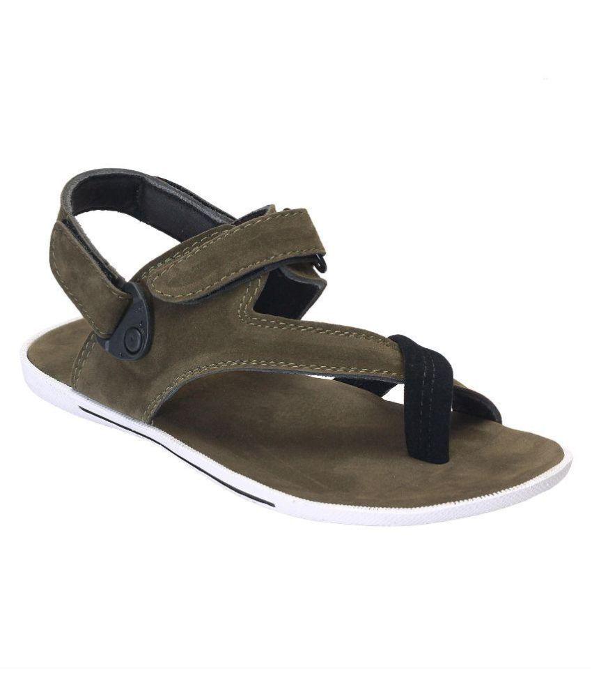 e105bf056 Shoegaro Green Sandals Price in India- Buy Shoegaro Green Sandals ...