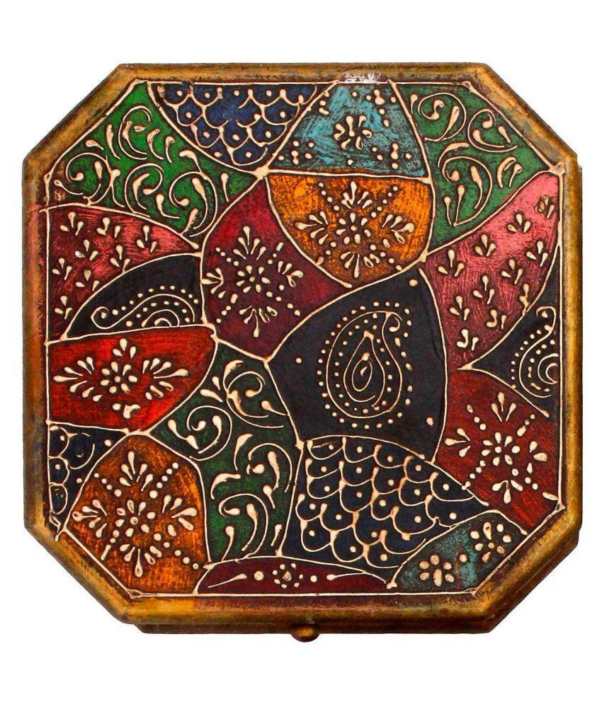 Little Jaipur Multicolor Wooden Jewellery Box