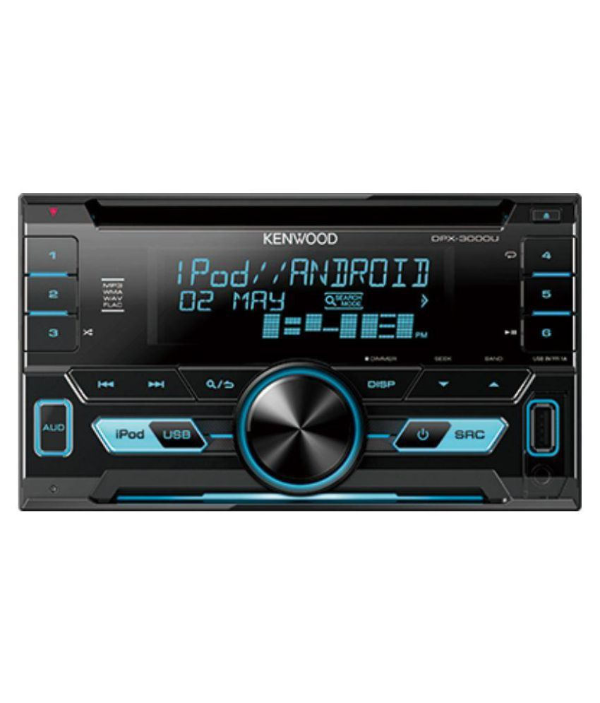 Kenwood DPX-3000U Double DIN Car Stereo: Buy Kenwood DPX