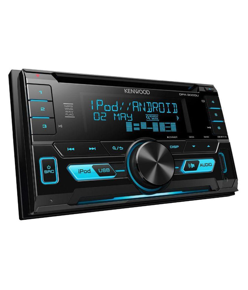 kenwood dpx 3000u double din car stereo buy kenwood dpx. Black Bedroom Furniture Sets. Home Design Ideas