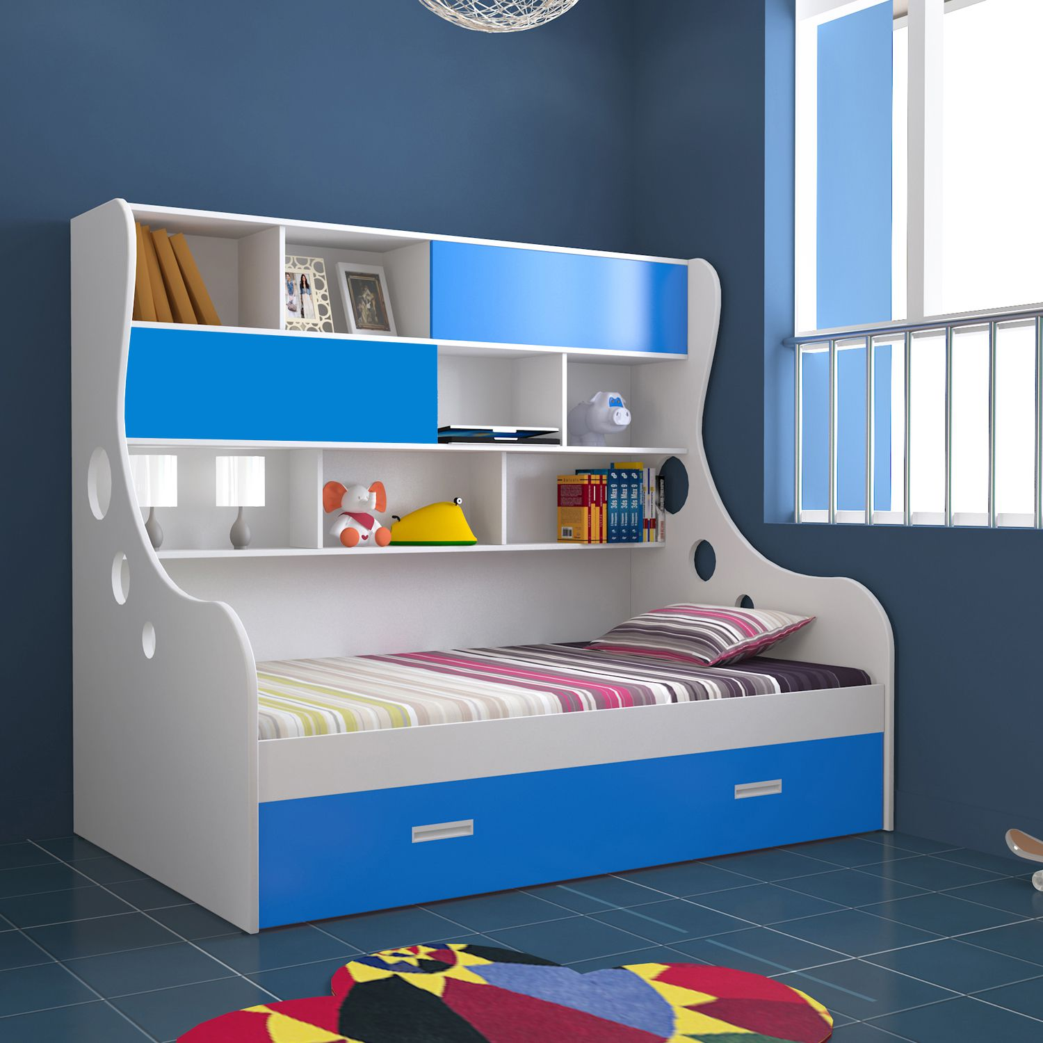 unicos arthur i expandable kids single storage bed buy unicos