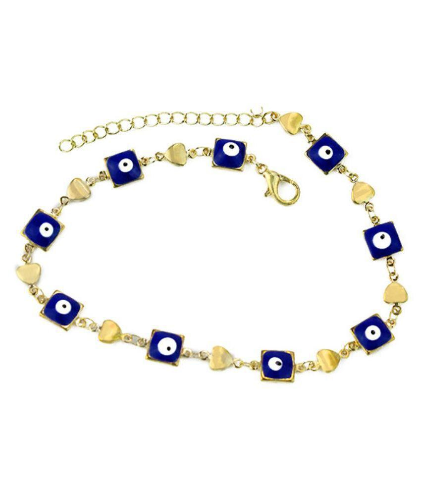 Archies Limited Multicolor Anklet