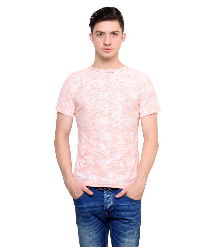 Camino Orange Round T-Shirt
