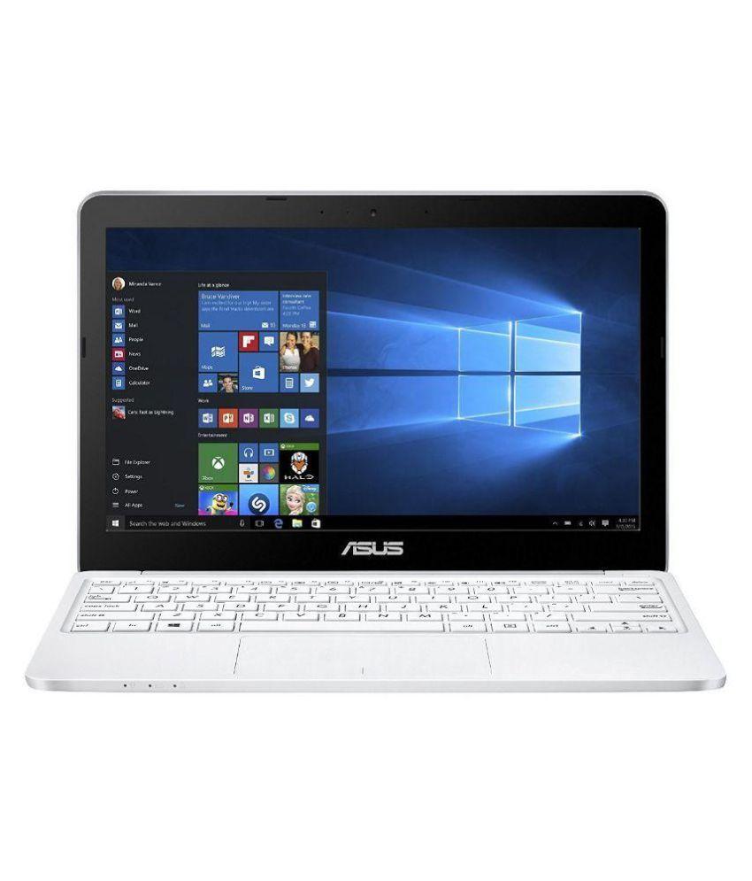 Asus (E200HA-FD0005TS) Netbook (Intel Atom- 2GB RAM- 32GB eMMC- 29.46cm(11.6) Screen- Windows 10) (White)