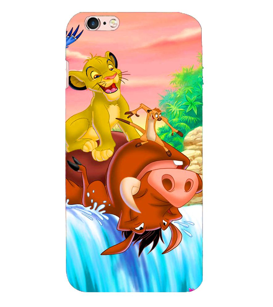 Apple iPhone 6S Printed Cover By Kosher Traders