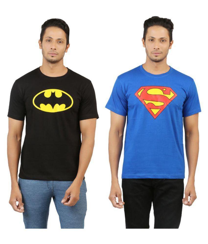 Aqsha Multi Round T-Shirt Pack of 2