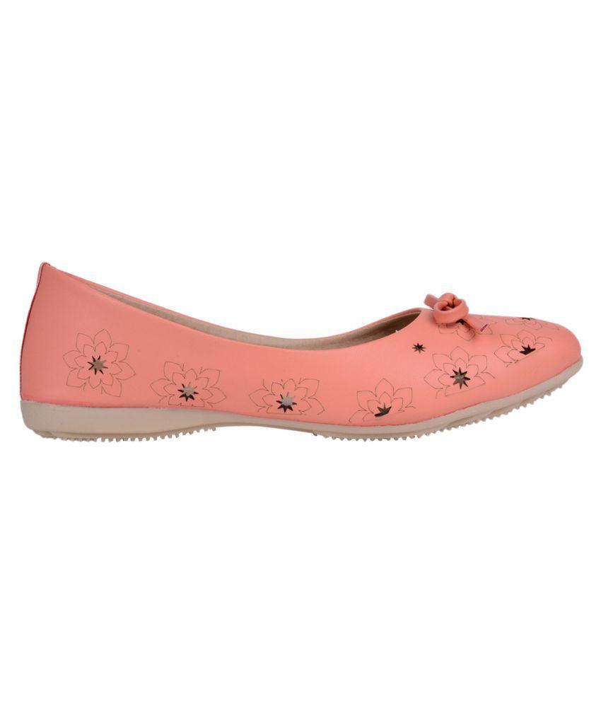 Classy Feet PeachPuff Ballerinas buy cheap 2014 Bcj4yoP