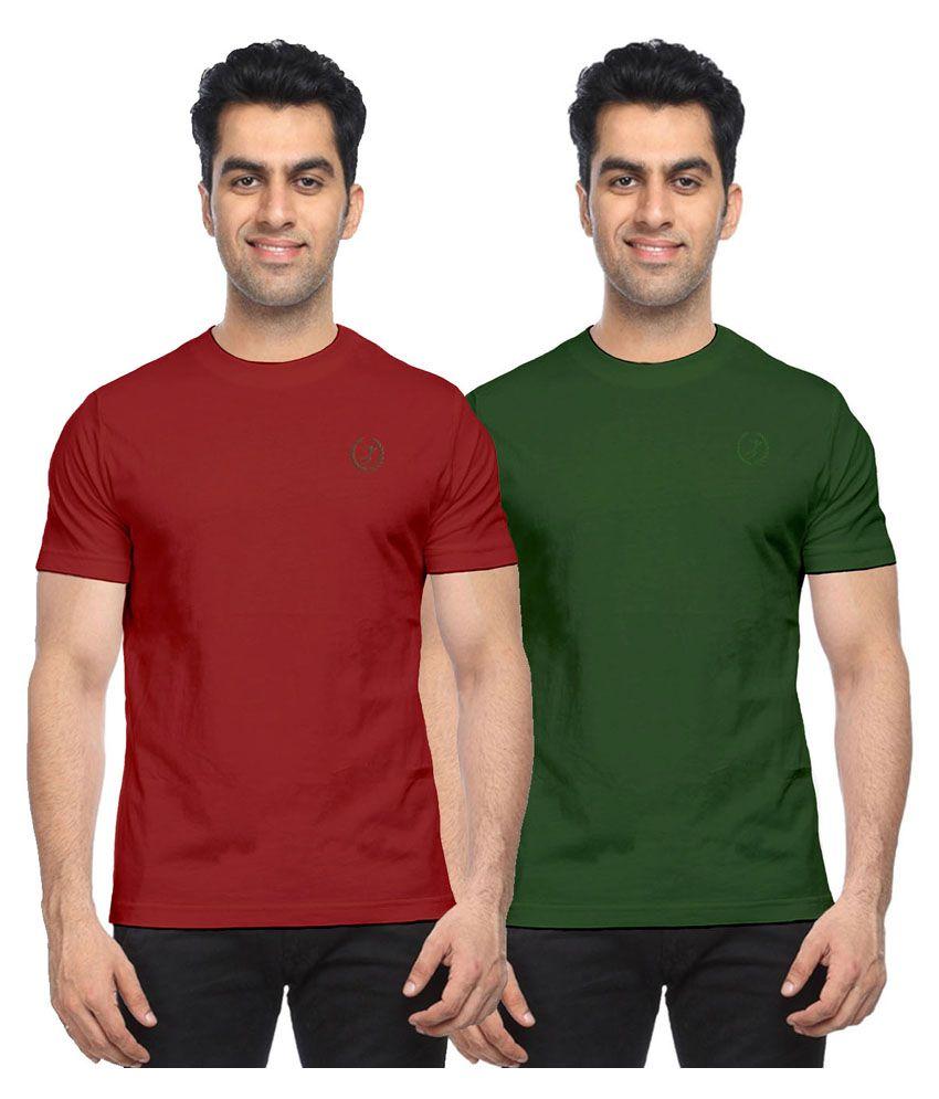 Moonwalker Multi Round T-Shirt Pack of 2