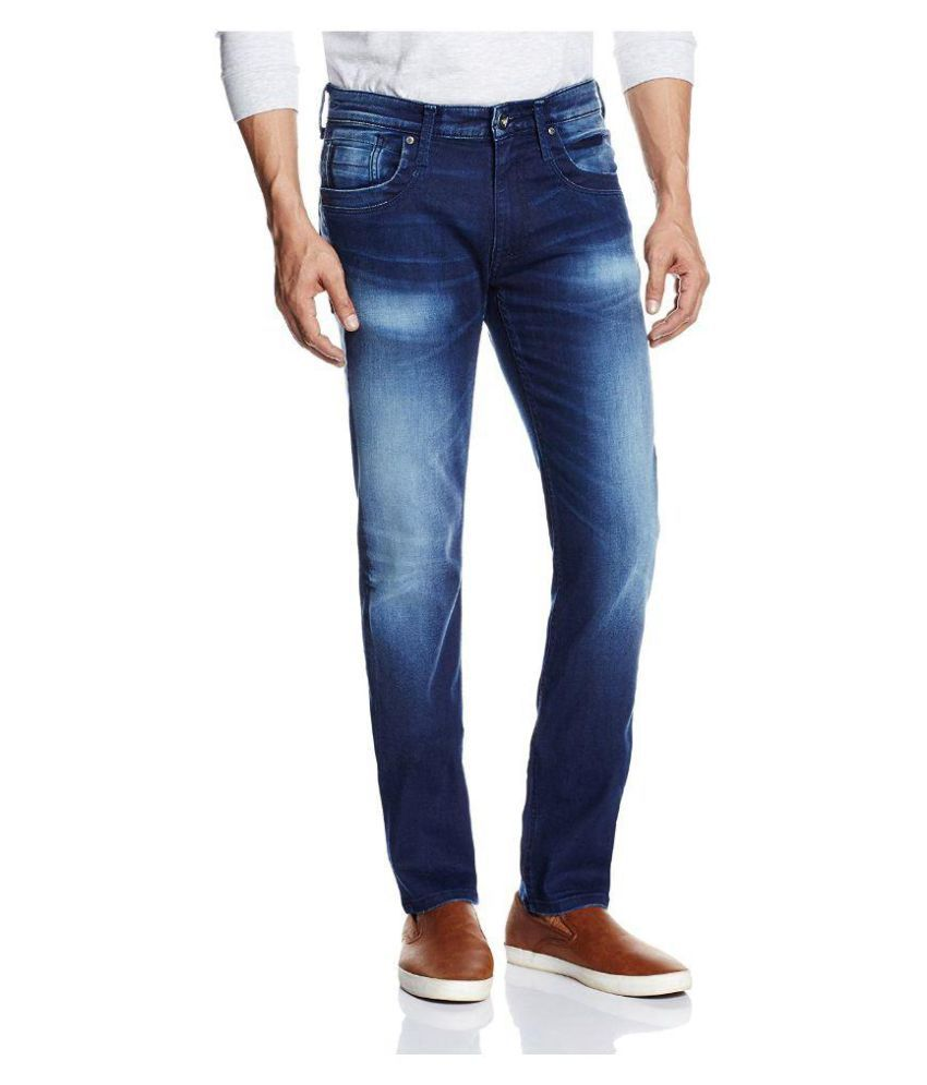 Pepe Jeans Blue Regular Fit Faded