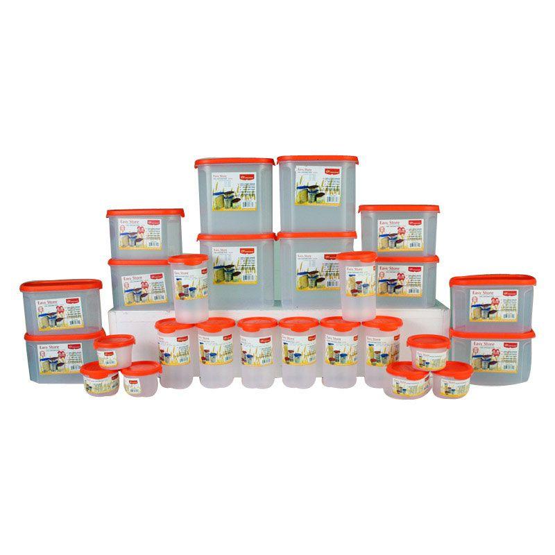Princeware Easystore 30 Pcs Container Set