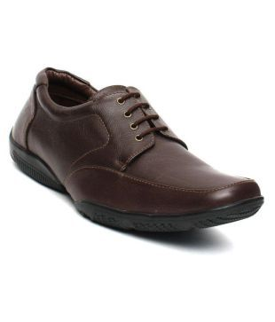 Tanny Shoes Brown Derby Genuine Leather Formal