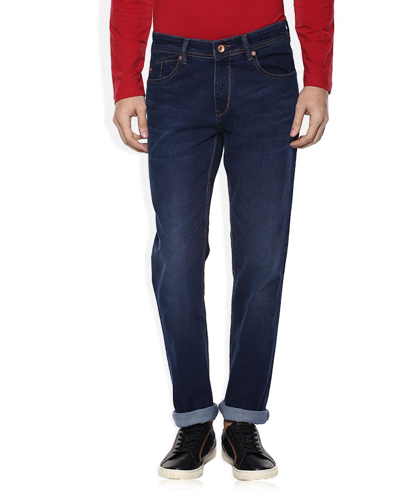 Monte Carlo Blue Slim Fit Jeans