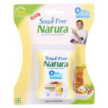 Sugar Free Natura 500 Pellets  Tablets No. Of Tablets 500