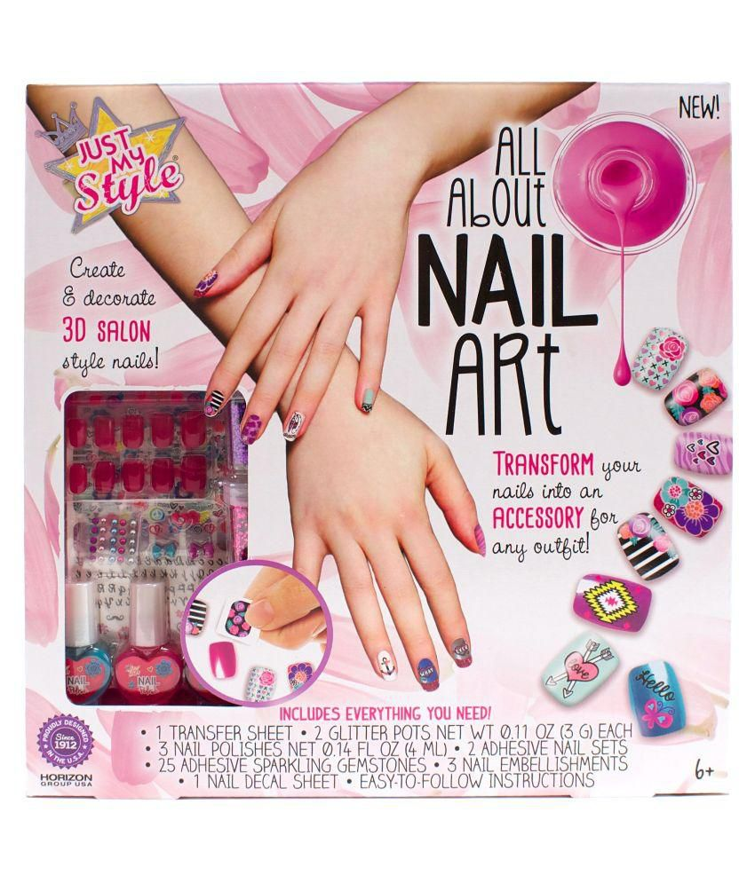 Just My Style All About Nail Art by Winning Moves Toys & Games Pvt ...