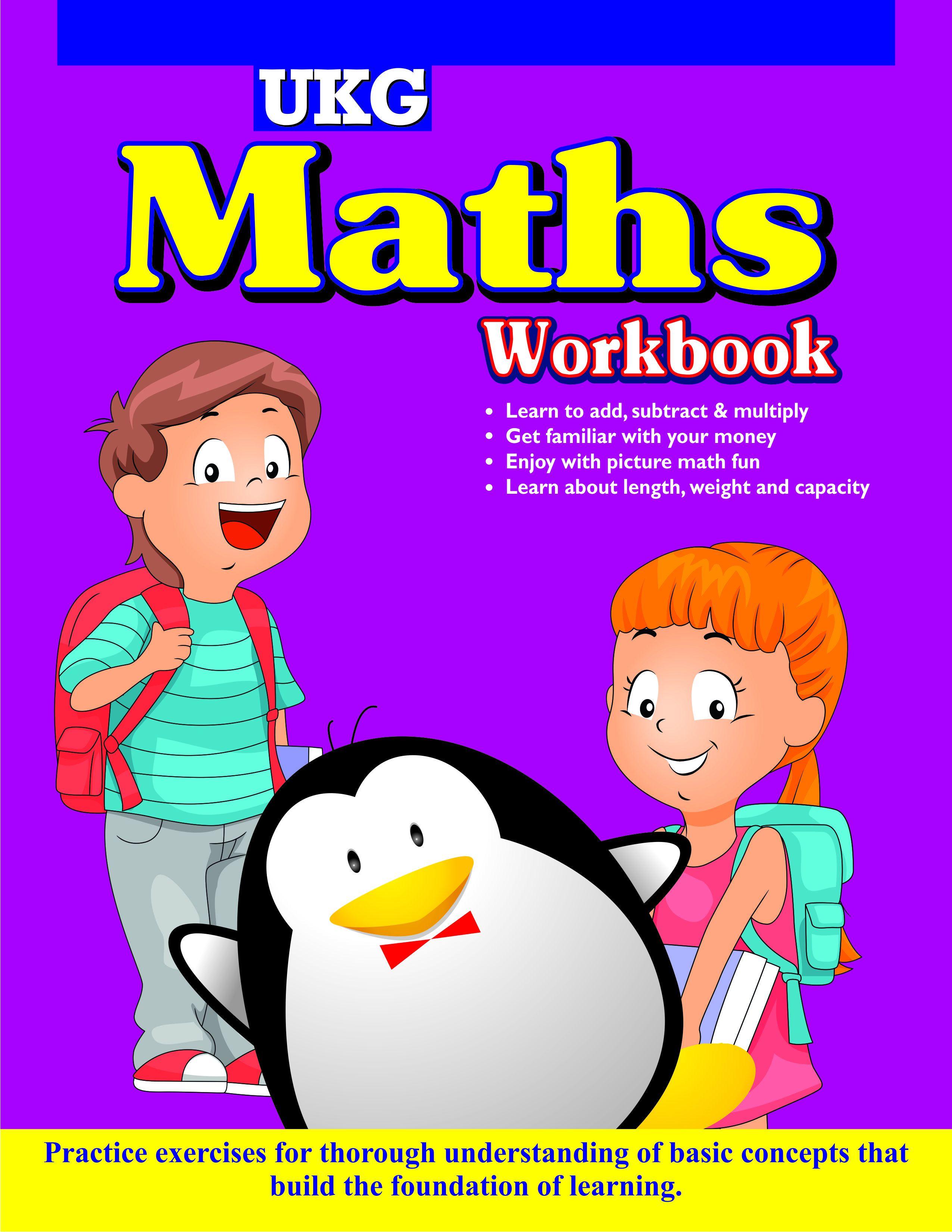 UKG MATHS WORKBOOK - Junior Workbooks English: Buy UKG MATHS ...