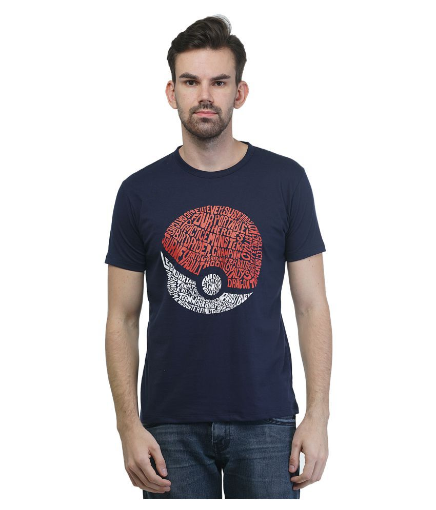 Griffel Navy Round T-Shirt