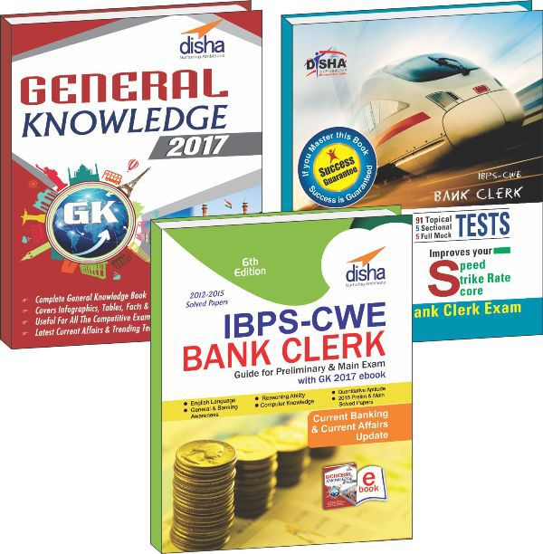 IBPS-CWE Bank Clerk 2016 Simplified (Guide + 101 Speed Tests + General Awareness 2017) 6th Edition