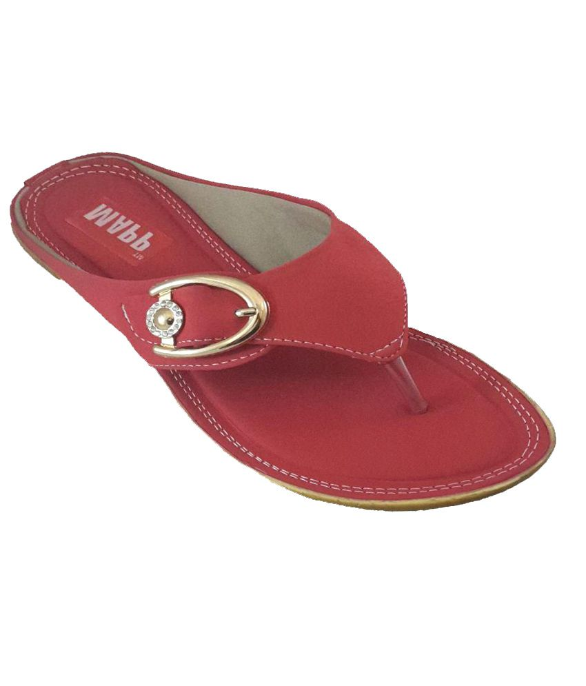 Mapp Red Slippers