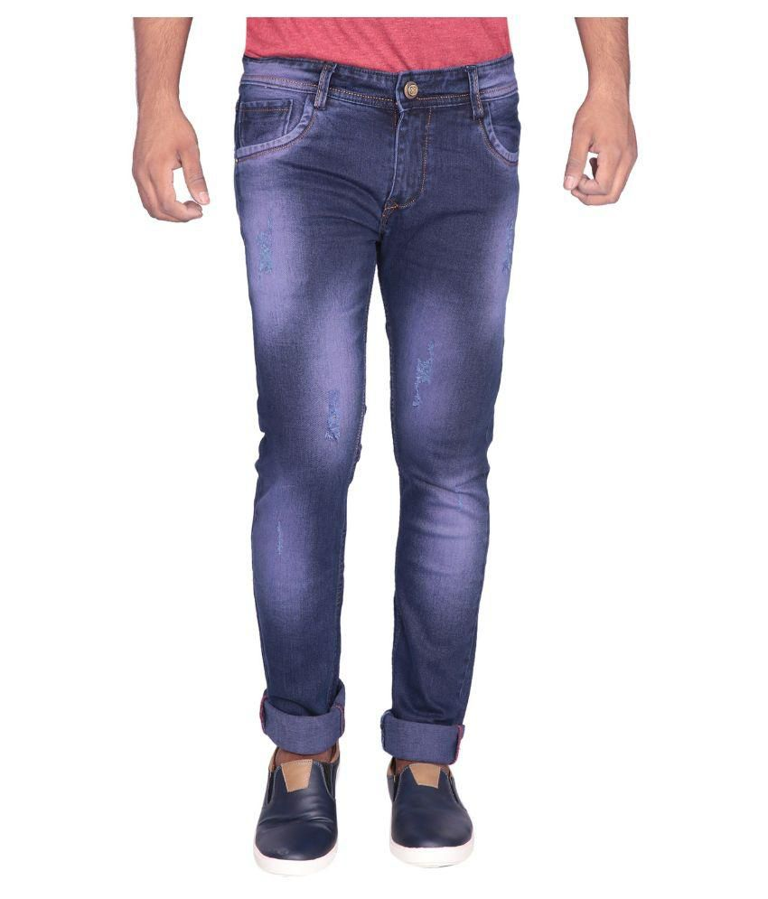 Z-FEEL Blue Slim Washed