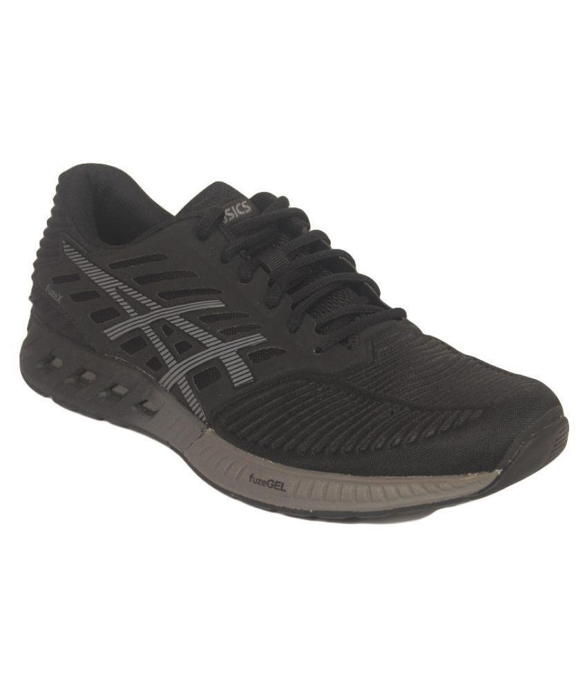 Asics Gray Running Shoes