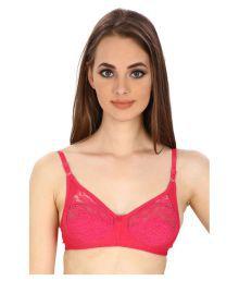 Secret Wish Pink Lace T-Shirt/ Seamless Bra - 629570133374